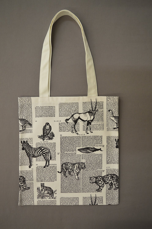 Conservation A-Z Tote Bag