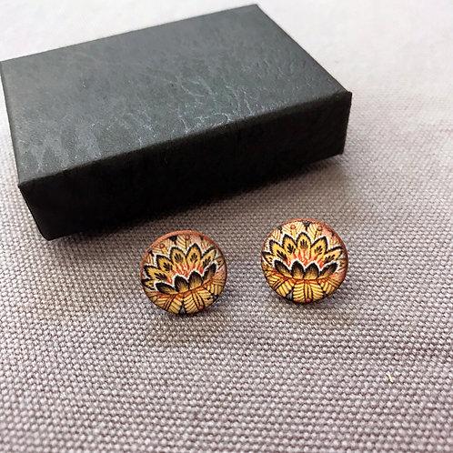 Autumn Flower Earrings