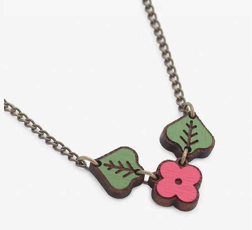 Raspberry Wild Bunch Necklace