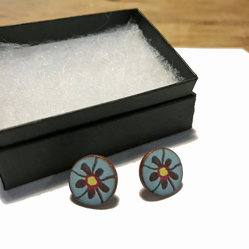 Floral Archive Earrings