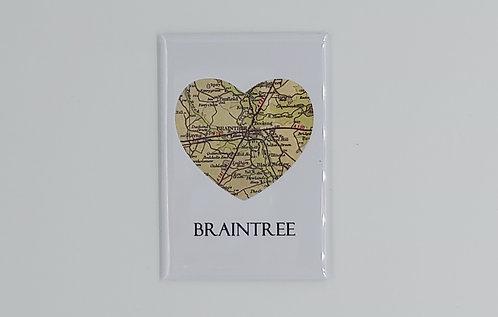 Heart Braintree Magnet
