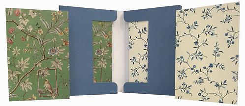 Floral Silks Notecard Set