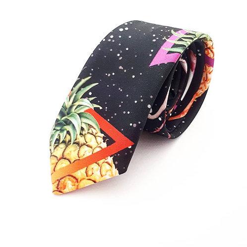 Gravata Slim Space Pineapple