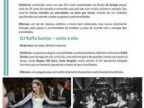 DJ's Lê Araújo e Raffa Santos entre os melhores do RS.