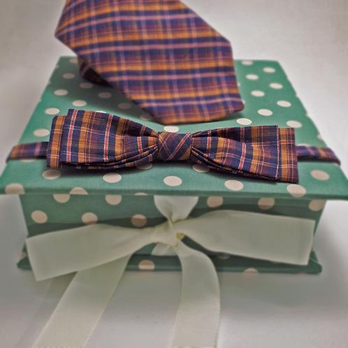 Box P + Gravata borboleta