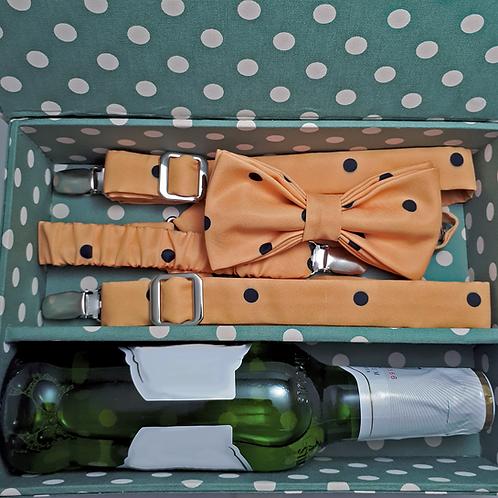 Box M + Grvta borboleta + Suspensório + Cerveja
