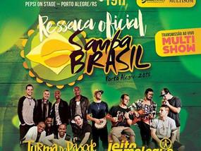 DJ Eddie Rezende toca na Ressaca Oficial Samba Brasil.