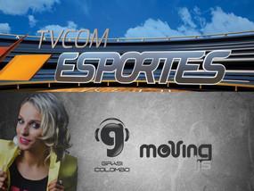 DJ Grasi Colombo e Confraria dos DJs no TV Com Esportes.