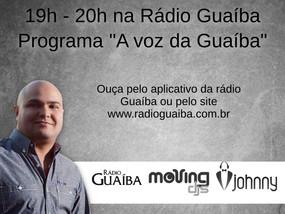 DJ Johnny participa do especial sobre Frank Sinatra na Rádio Guaíba.