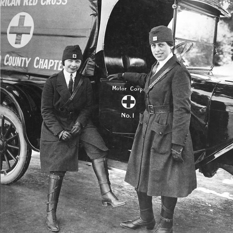Tracing Female Ancestors in WWI Military and Non-Combatant Records