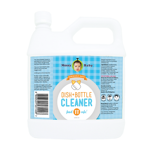 Messy Baby Dish and Bottle Cleaner 2000ml