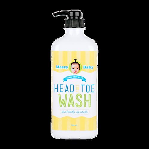 Messy Baby Head To Toe Wash 500ml