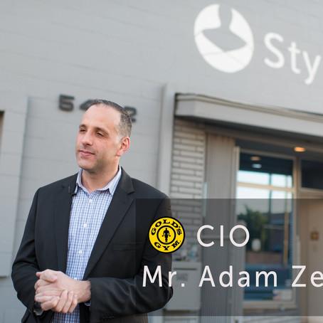 アメリカのゴールドジム CIO アダム・ゼイチフ氏インタビュー