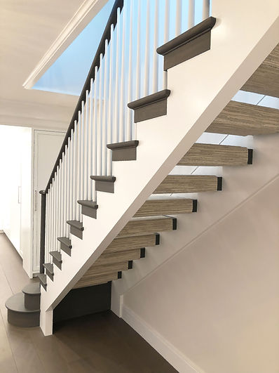 Lake Shore Stair Tread, Riser, & Stringer Details