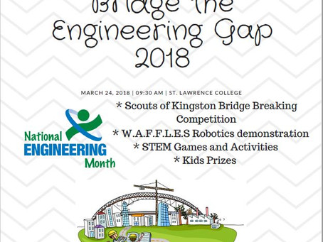 STEM Event: Bridging the Gap – Update
