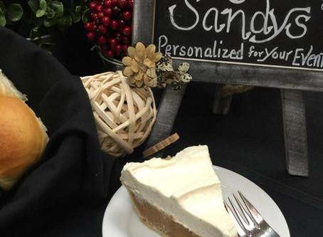 Thanksgiving Dessert made Easy!