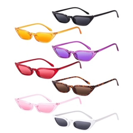 RETRO SKINNY SUNGLASSES