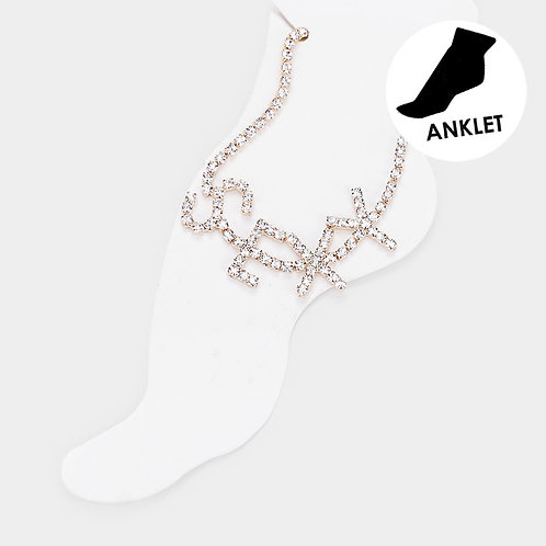 SEXY ANKLET