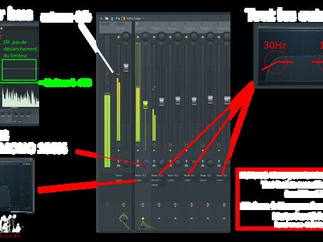 Informations pour le mix down