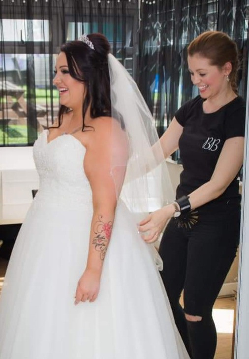 registry office wedding essex bride hair and makeup artist