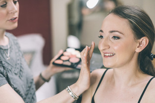 apton Hall wedding makeup artist