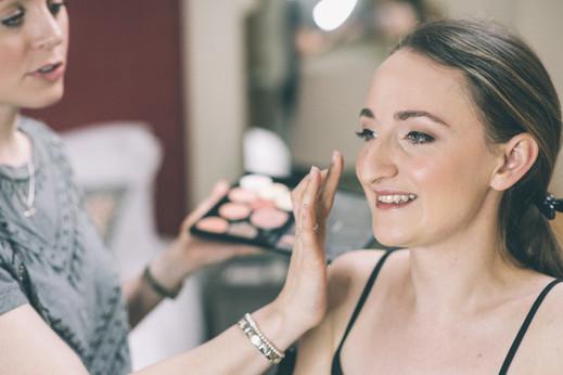 apton Hall wedding makeup artist