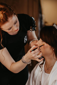 channels estate wedding essex hair and makeup