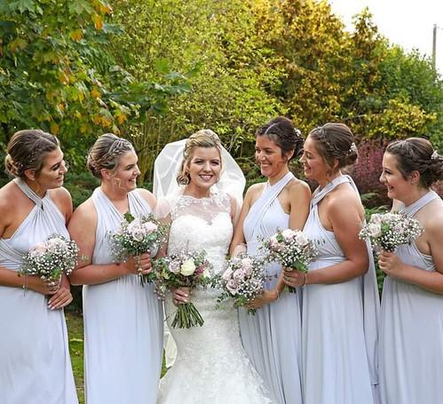 Crabbs Barn, Essex Wedding Hair Bride Bridesmaids hairstyle bridal makeup