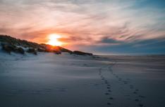 Am Strand von Spiekeroog