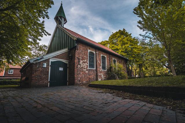 Die alte Inselkirche auf Spiekeroog