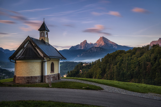 Kapelle über Berchtesgaden