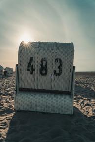 Strandkorb auf Spiekeroog