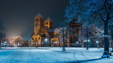 St. Paulus Dom im Winter