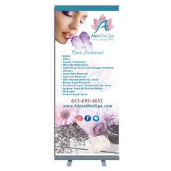 retactable banner template