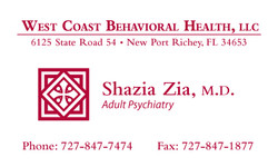 Shazia+MD+business+card