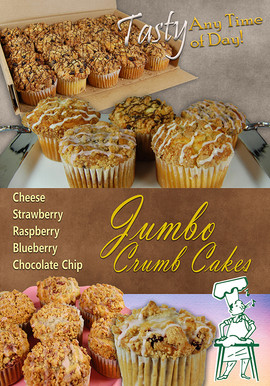 Alessi Newsletter Layout JUMBO CRUMB CAK