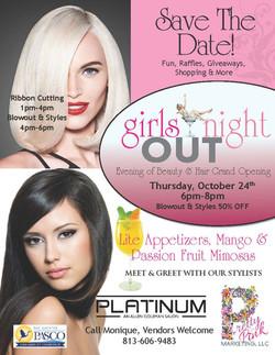 platinum salon ad