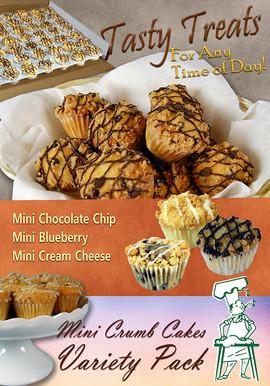 Alessi Newsletter Layout Mini crumb cake