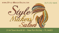 STYLE MAKERS SALON one sided 2014