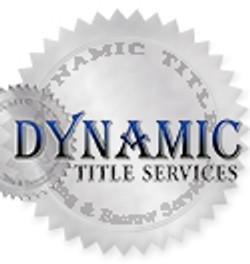 DYNAMIC TITLE SERVICES