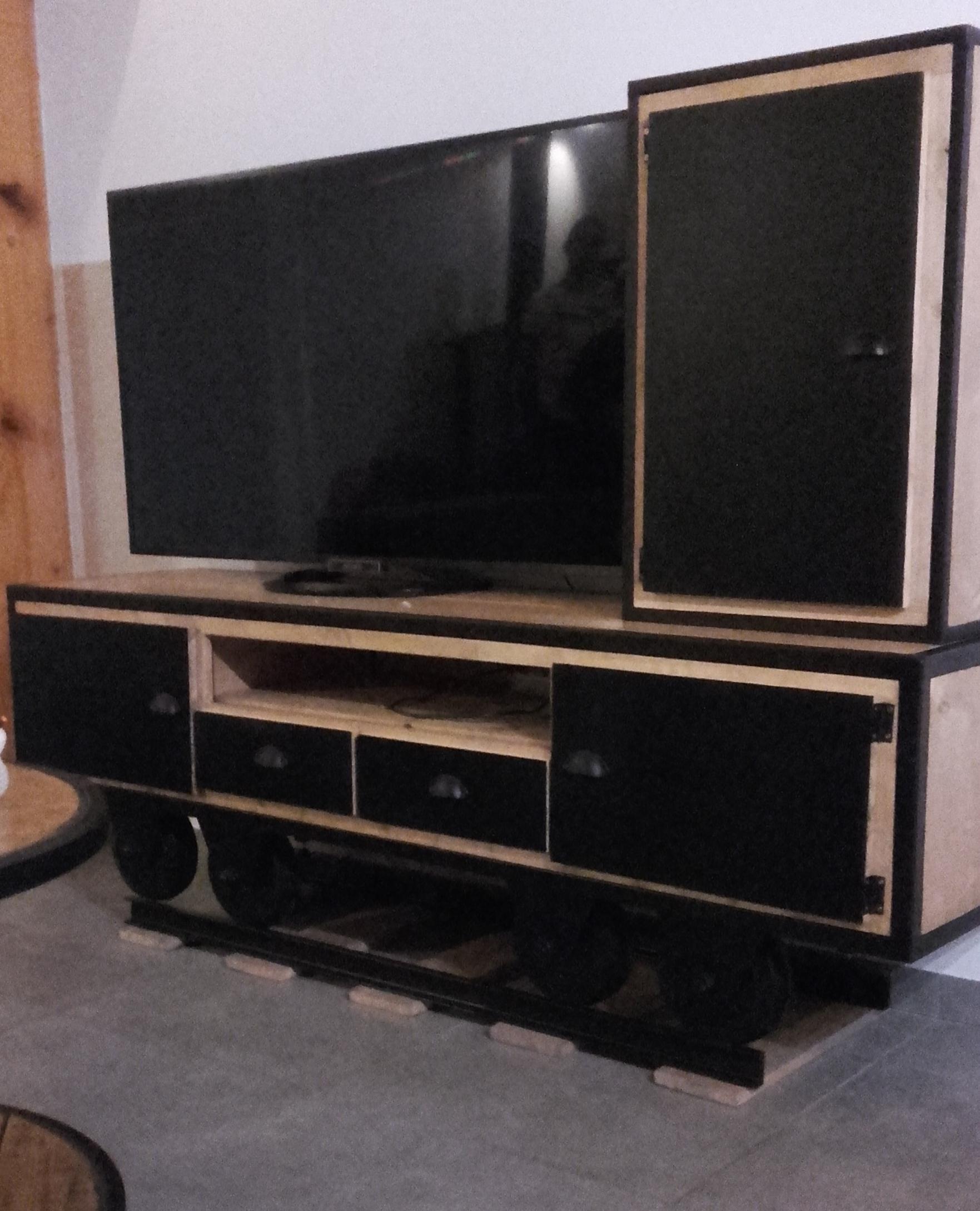 Meuble TV Wagon