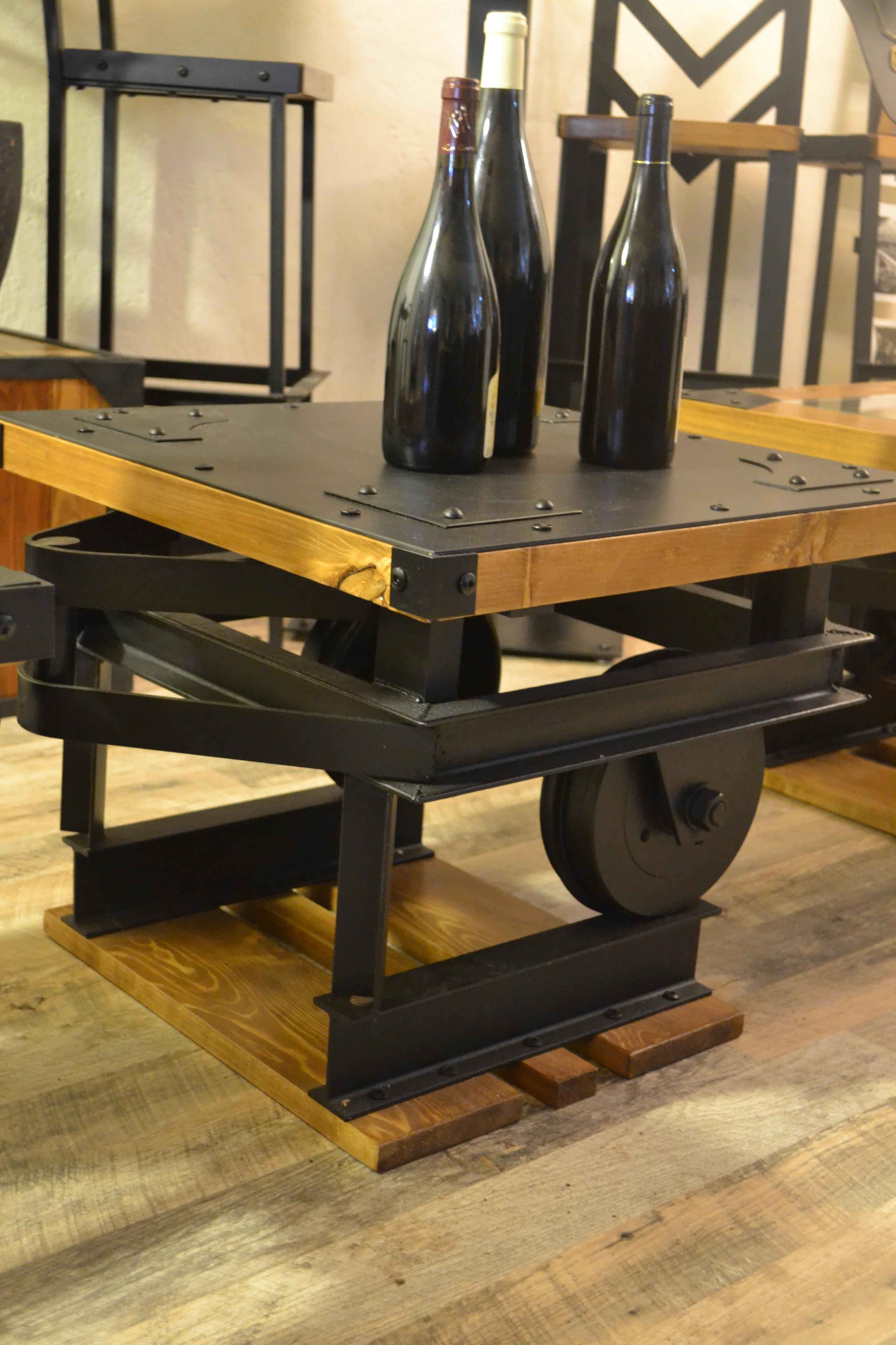 Wagonnet sur rails