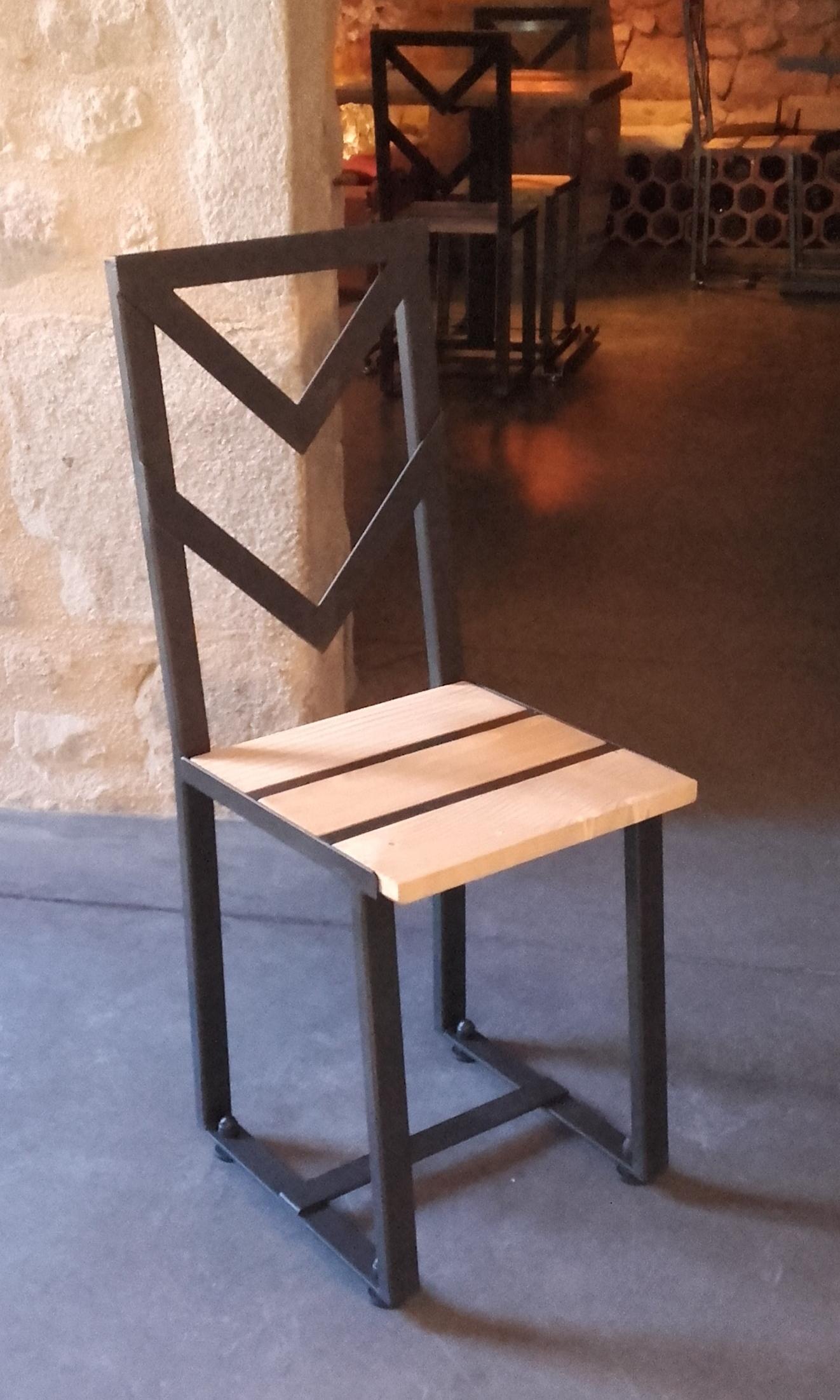 """Chaise """"Bistrot Loft"""""""