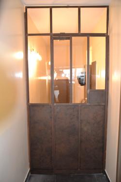 Porte Acier style verrière