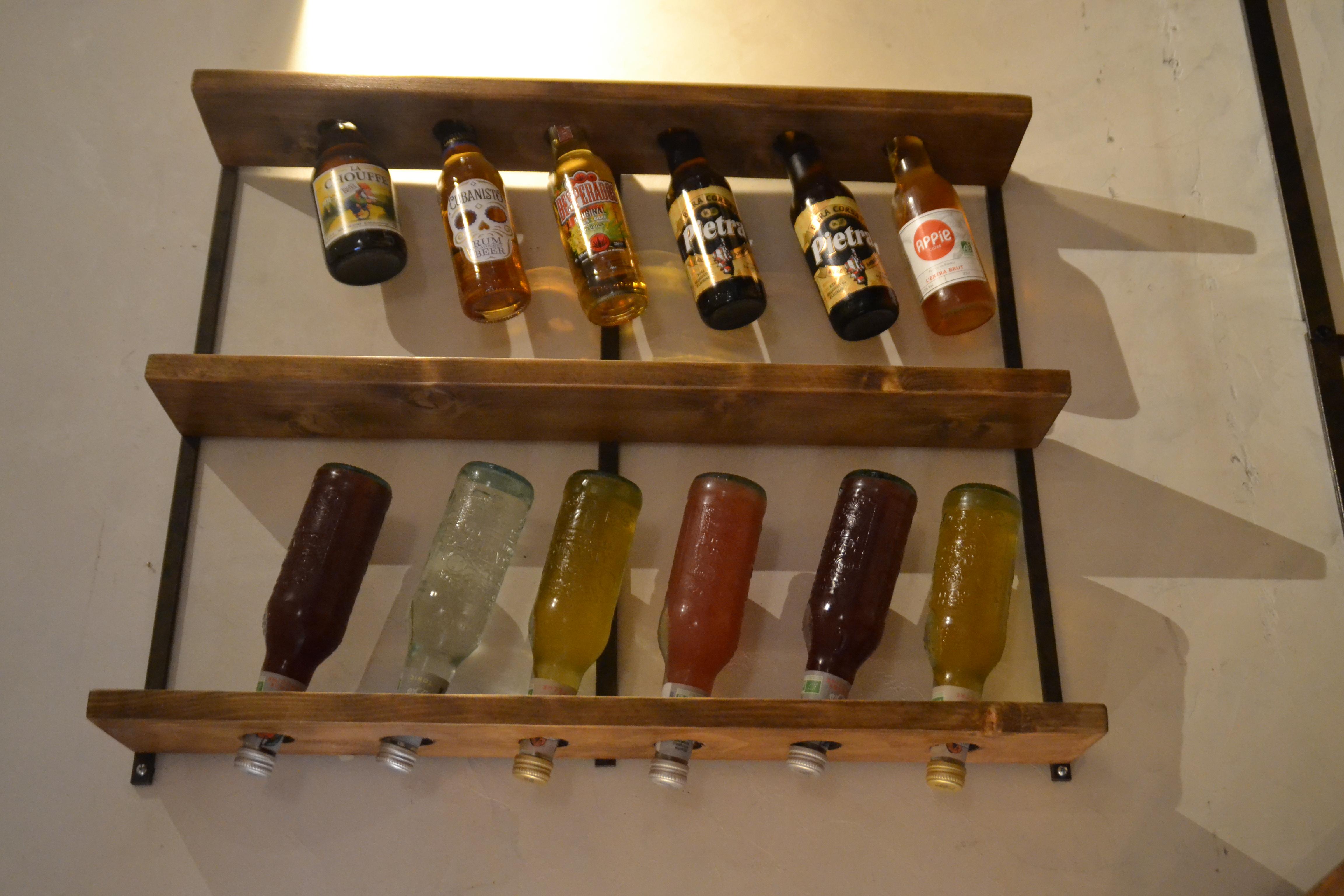 Présentoir à bouteilles