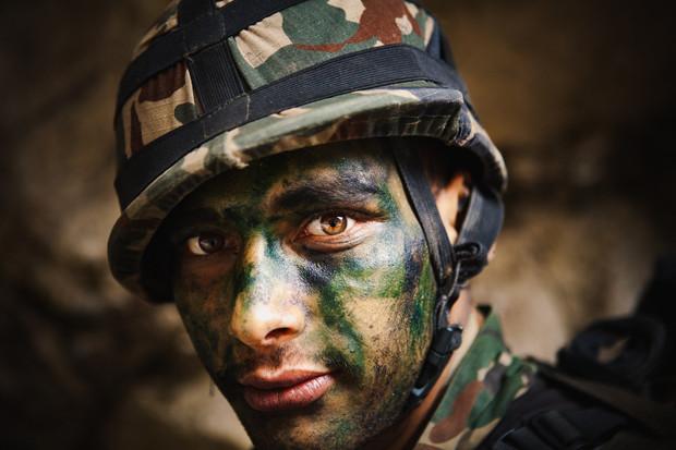 Gurkha Soldier, Nepal 2017
