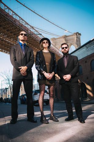 Kelly Green Trio, Brooklyn, New York, 2018