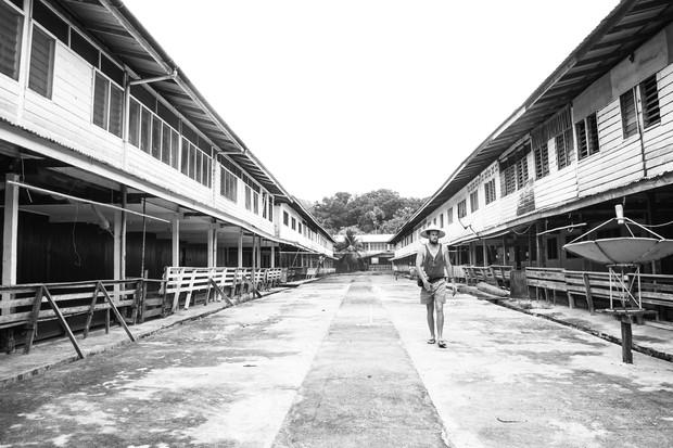 Long House. Kapit, Borneo, Malaysia 2013