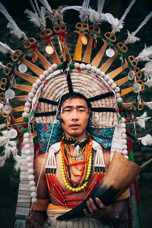 Angami Tribesman, Nagaland, India 2017