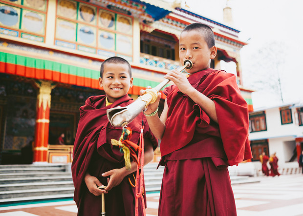 Ralong Monastery, Sikkim, India 2017